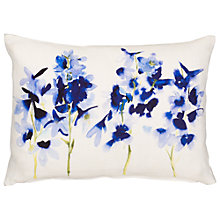 Buy bluebellgray for John Lewis Delphinium Cushion, Multi Online at johnlewis.com