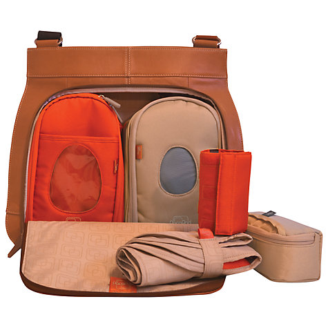 Buy PacaPod Coromandel Changing Bag, Tan Online at johnlewis.com