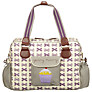 Pink Lining Yummy Mummy Bows Changing Bag, Grape