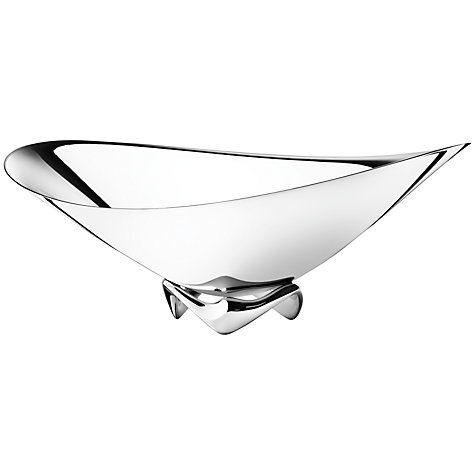 Buy Georg Jensen Masterpieces Koppel Wave Bowl Online at johnlewis.com