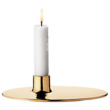 Buy Georg Jensen Masterpieces Precious Candle Holder, Brass Online at johnlewis.com