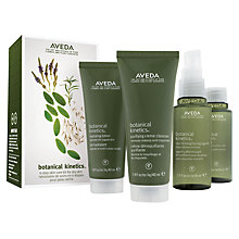 Buy AVEDA Botanical Kinetics™ Skincare Set 4-step Skincare Kit, Dry/Normal Online at johnlewis.com