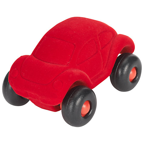 Buy Rubbabu Beetle Car, Red Online at johnlewis.com