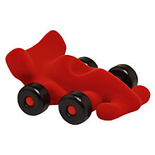 Buy Rubbabu Racing Car, Red Online at johnlewis.com