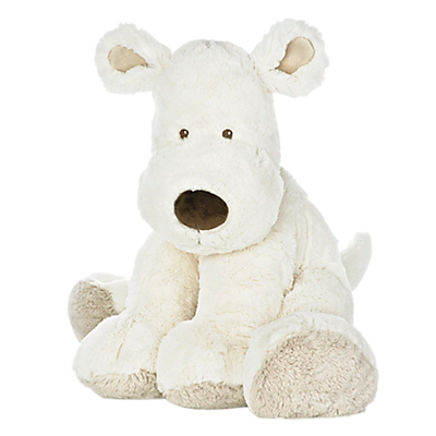Teddykompaniet Hund Extra Large Dog Toy, Cream