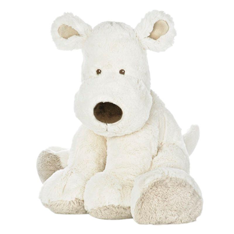 Teddykompaniet Teddykompaniet Hund Extra Large Dog Toy, Cream