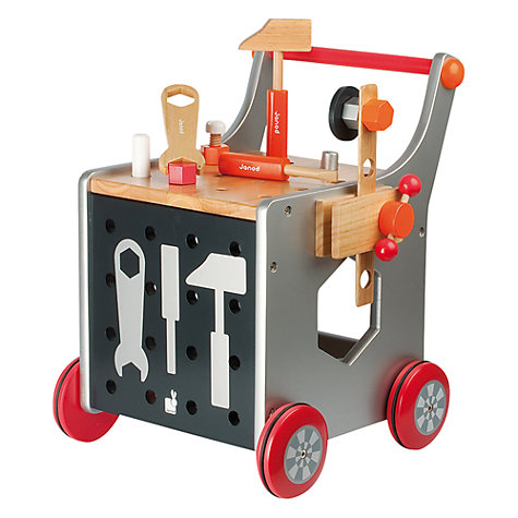 Buy Janod DIY Trolley Online at johnlewis.com