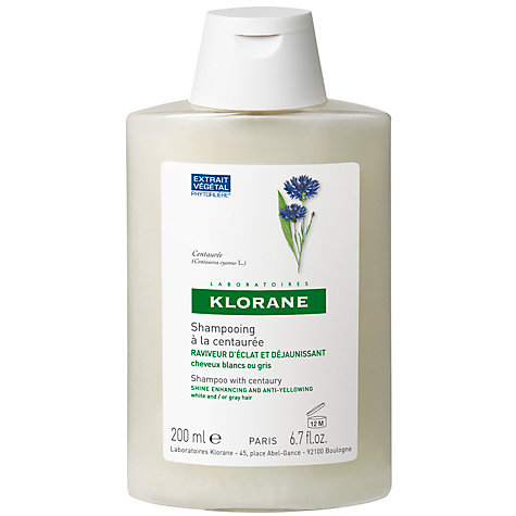 Buy Klorane Centaury Shampoo for Grey/White Hair, 200ml Online at johnlewis.com