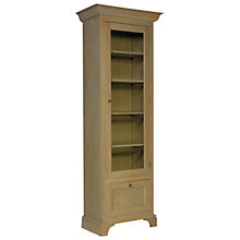 Buy Neptune Henley Narrow Full Height Glazed Oak Cabinet, Right Hinged, Oak Online at johnlewis.com
