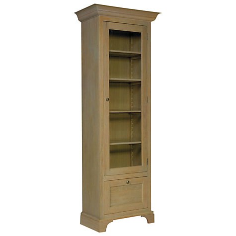 Buy Neptune Henley Full Height Narrow Glazed Cabinet, Oak, Right Hand Opening Online at johnlewis.com