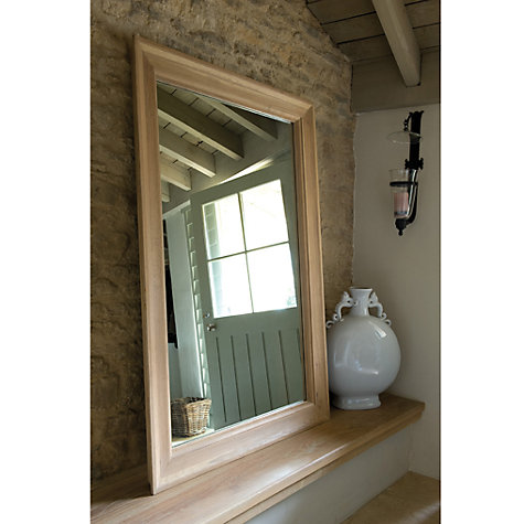 Buy Neptune Henley Oak Mirror, H154 x W100cm Online at johnlewis.com