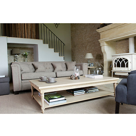Buy Neptune Henley 160cm Rectangular Coffee Table, Oak Online at johnlewis.com