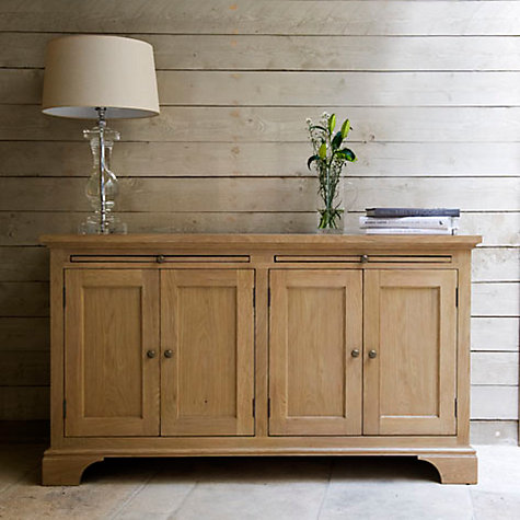 Buy Neptune Henley 5ft 4 Door Sideboard, Oak Online at johnlewis.com