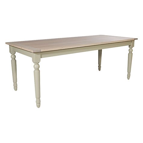 Buy Neptune Suffolk 8 Seater Rectangular Dining Table, Seasoned Oak Online at johnlewis.com