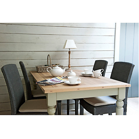 Buy Neptune Suffolk 8-Seater Rectangular Seasoned Oak Dining Table, Honed Slate Online at johnlewis.com