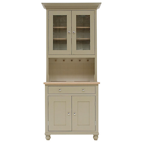 Buy Neptune Suffolk 3ft Glazed Rack Dresser, Honed Slate Online at johnlewis.com