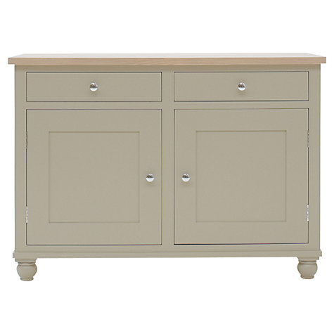 Buy Neptune Suffolk 4ft 2 Door Sideboard, Honed Slate Online at johnlewis.com