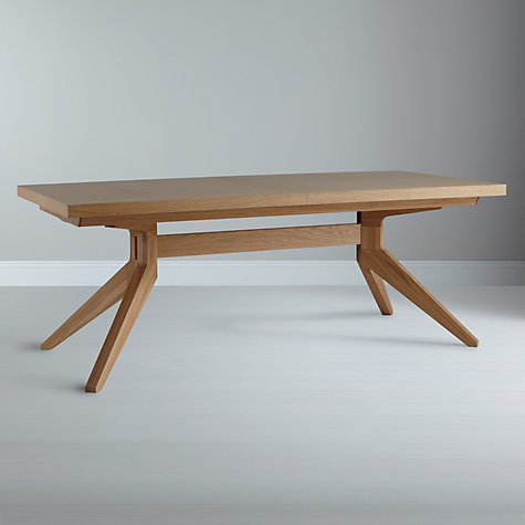 Buy Mathew Hilton for Case Cross 6-14 Seater Extending Dining Table Online at johnlewis.com