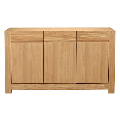 Buy John Lewis Henry 3 Door 3 Drawer Sideboard Online at johnlewis.com