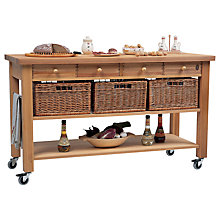 Buy Eddingtons Lambourn 4 Drawer Butchers Trolley Online at johnlewis.com