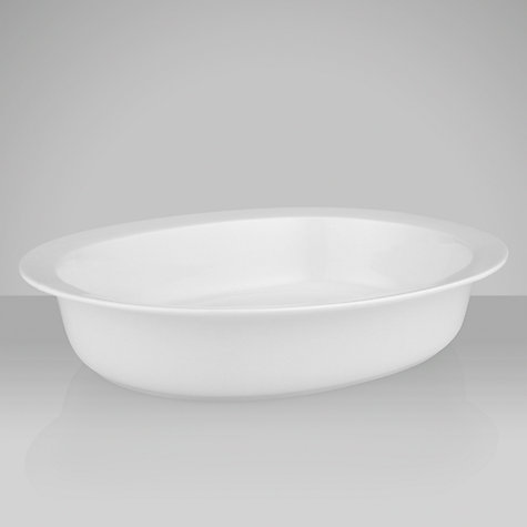 Buy House by John Lewis Deep Oval Pie Dish, 2L Online at johnlewis.com