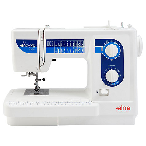 Buy Elna eXplore 320 Sewing Machine Online at johnlewis.com