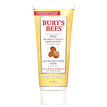 Buy Burt's Bees Fragrance Free Body Lotion, 170g Online at johnlewis.com