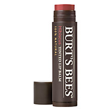 Buy Burt's Bees Hibiscus Tinted Lip Balm, 4.25g Online at johnlewis.com