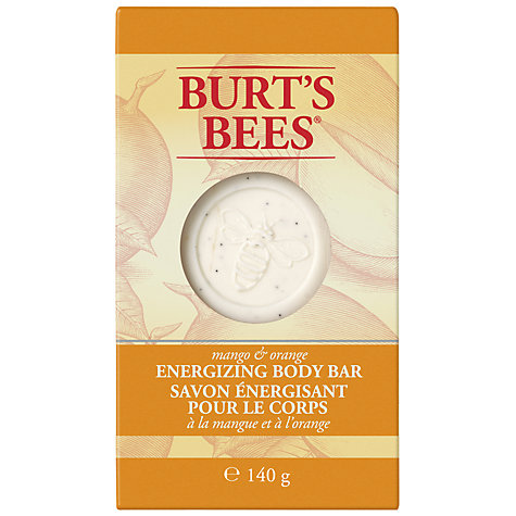 Buy Burt Bees Mango and Orange Body Energizing Body Bar, 140g Online at johnlewis.com