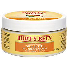 Buy Burt's Bees Mango and Orange Body Butter, 185g Online at johnlewis.com