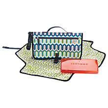 Buy Jonathan Adler for Skip Hop Pronto Changing Mat, Chevron Blue Online at johnlewis.com