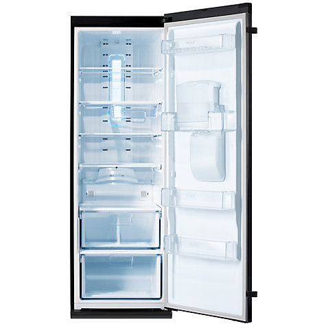 Buy Samsung RR82PBBB Larder Fridge, A+ Energy Rating, 60cm Wide, Gloss Black Online at johnlewis.com