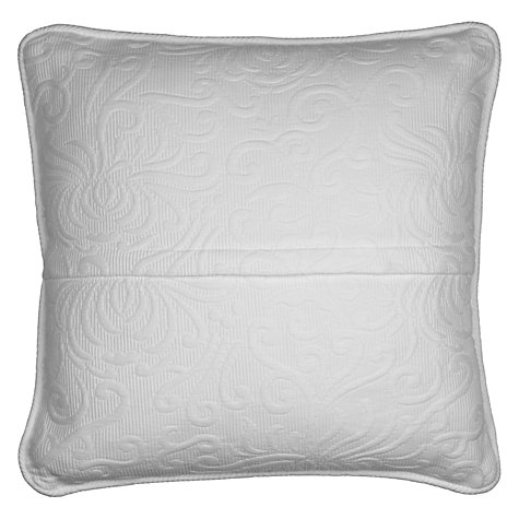 Buy John Lewis Alice Cushion, White Online at johnlewis.com