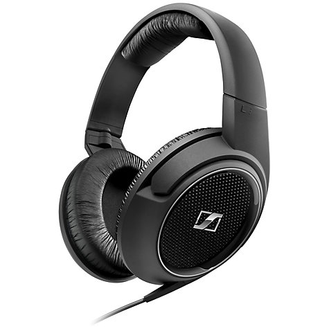 Buy Sennheiser HD429 Full Size Headphones, Black Online at johnlewis.com