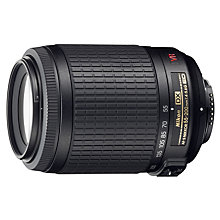 Buy Nikon DX 55-200mm f/4.-5.6 VR AF-S Telephoto Lens Online at johnlewis.com