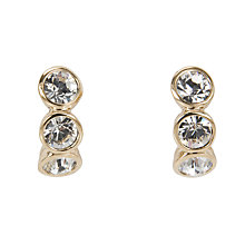 Buy Cachet Mini Hoop Triple Stone Drop Earrings Online at johnlewis.com