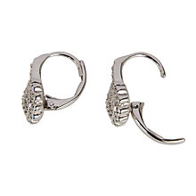 Buy Cachet Rhinestone Leverback Drop Earrings Online at johnlewis.com