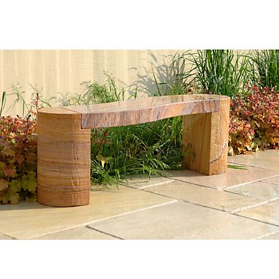 Foras Jasper 130 Curved Rainbow 2-Seat Garden Bench