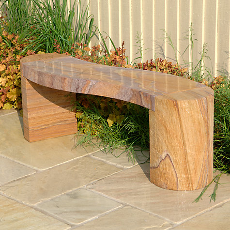 Buy Foras Jasper 130 Curved Rainbow Garden Bench Online at johnlewis.com