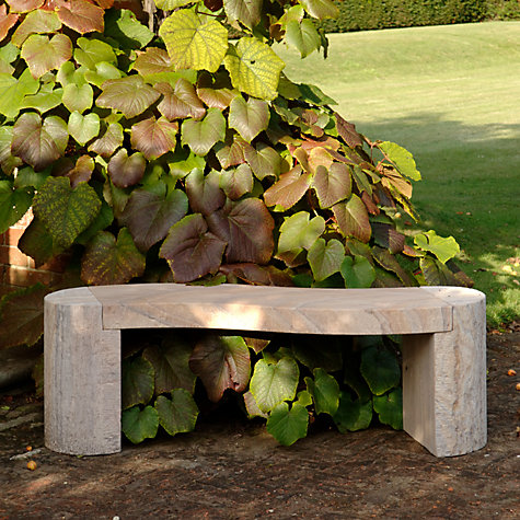 Buy Foras Jasper 130 Curved Rainbow 2-Seat Garden Bench Online at johnlewis.com