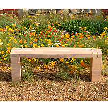 Buy Foras Rossco 130 Rainbow 2-Seat Garden Bench Online at johnlewis.com