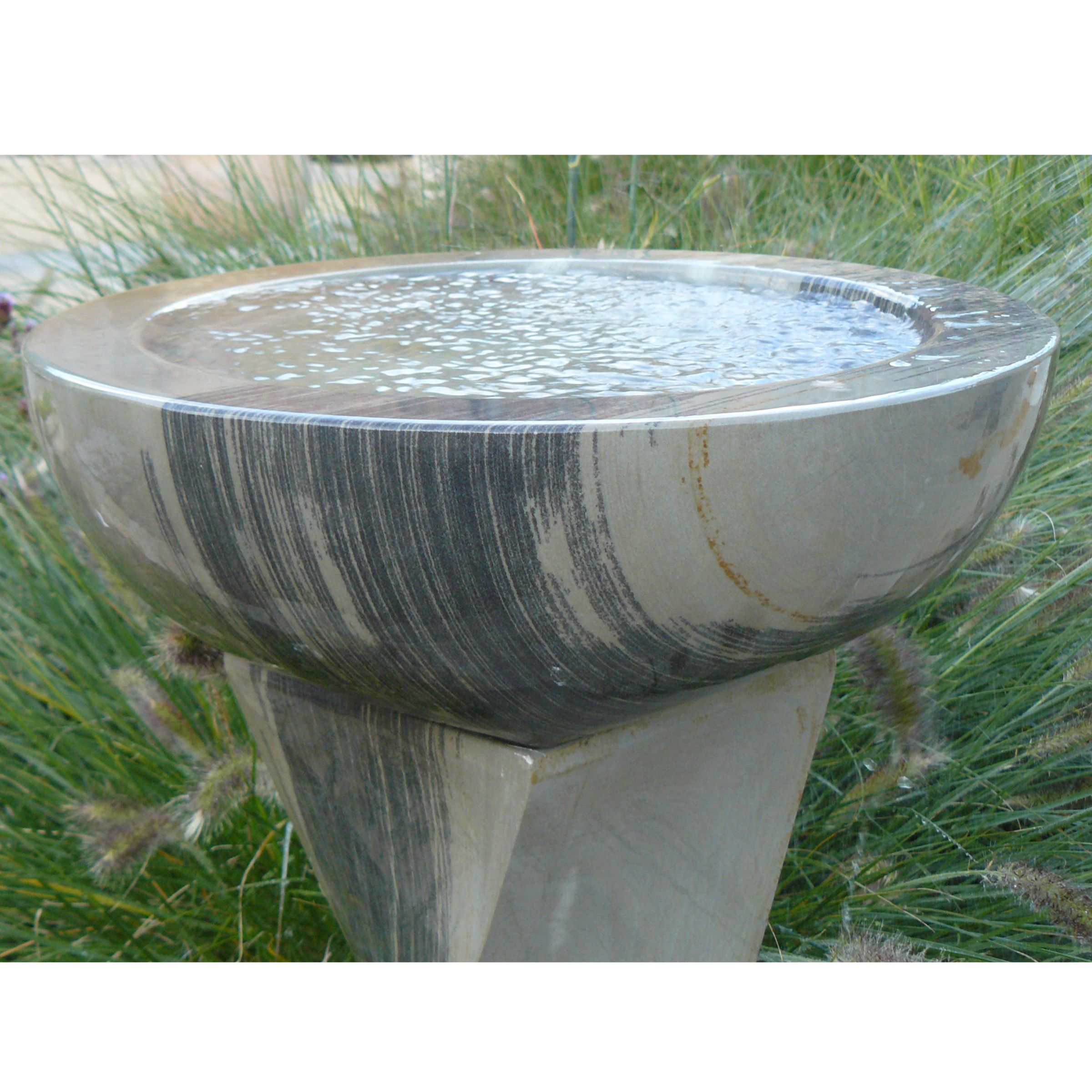 Foras Shark Twist Honed and Drilled Water Feature Kit