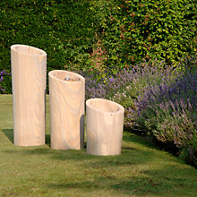 Buy Foras Slant Planters, Set of 3 Online at johnlewis.com