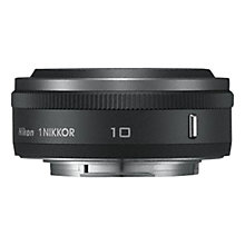 Buy Nikon 10mm f/2.8 Wide-Angle 1 Pancake Lens Online at johnlewis.com
