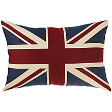 Buy John Lewis Giant Union Jack Tapestry Cushion, Multi Online at johnlewis.com