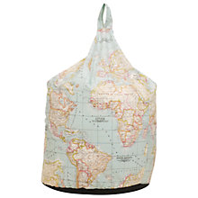 Buy John Lewis World Map Bean Bag, Multi Online at johnlewis.com
