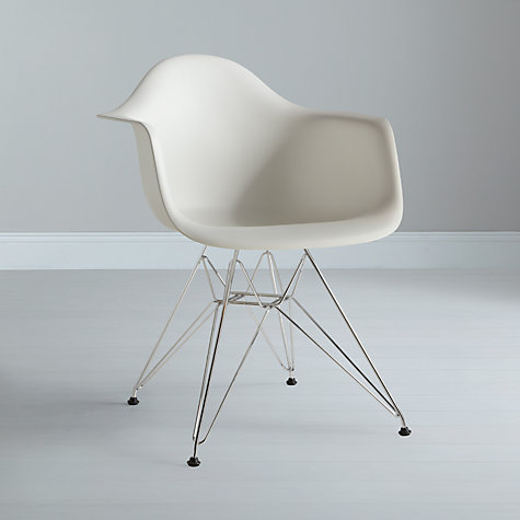 Buy Vitra Eames DAR Dining Armchair Online at johnlewis.com