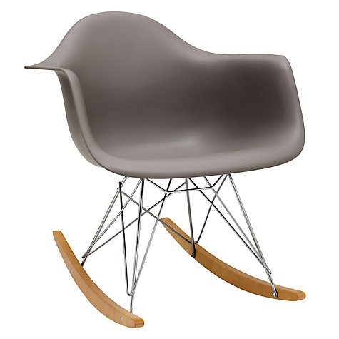 Buy vitra eames rar rocking chair john lewis - Rocking chair vitra ...