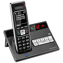 Buy BT Diverse 7450 Plus Digital Telephone and Answering Machine, Single DECT Online at johnlewis.com