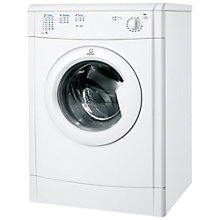 Buy Indesit IDV75 Vented Tumble Dryer, 7kg Load, C Energy Rating, White Online at johnlewis.com